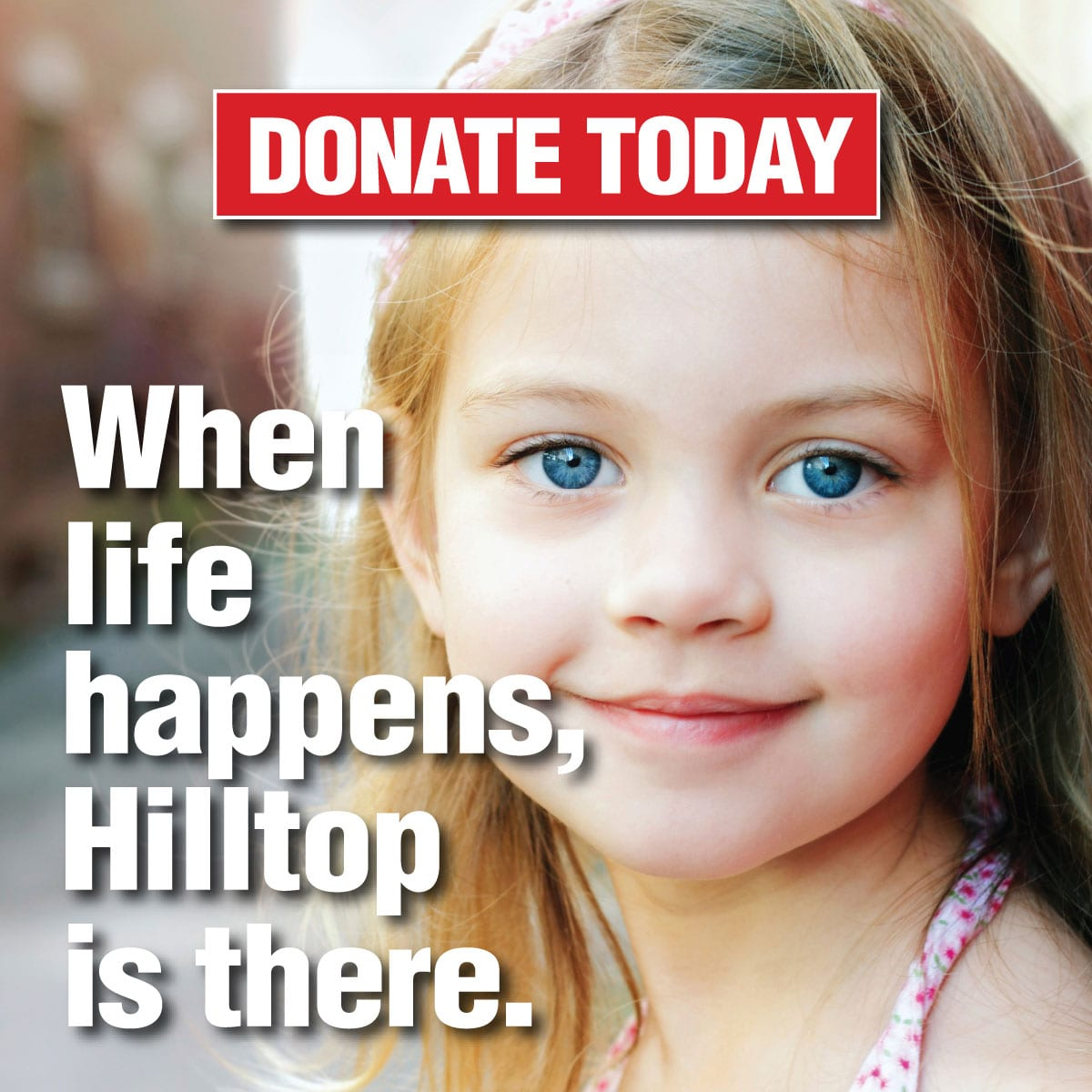 Make a Donation to Hilltop