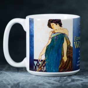 Collectible Ceramic Mug<br />  Art by Fay Timmerman